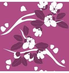 Seamless leaf ornament 549 vector image