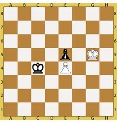 Zugzwang vector image