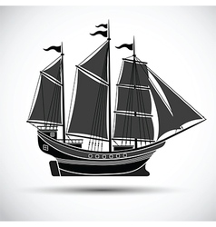 Sailing ship2 vector