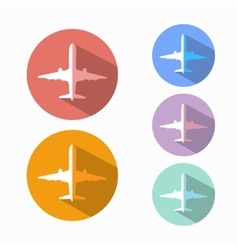 airline vector image