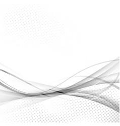 Abstract speed swoosh futuristic modern hi-tech vector