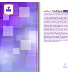 Abstract purple background for business vector