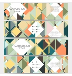 Abstract colored backgrounds with place for text vector