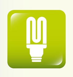 bulb design vector image