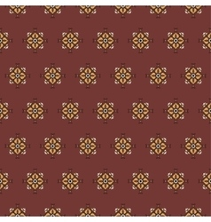 seamless pattern on a red background vector image vector image
