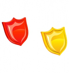 security sheld vector image vector image