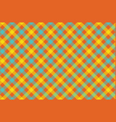 Color check diagonal fabric texture background vector