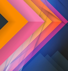 Abstract colorful background modern material vector