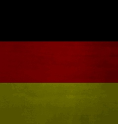 Grunge messy flag German vector image