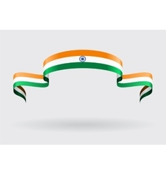 Indian flag background vector