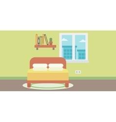 Background of bedroom vector