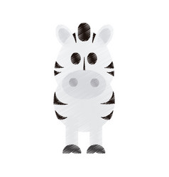 Cute animal cartoon icon image vector
