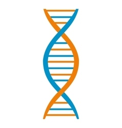 Dna and molecule symbol vector