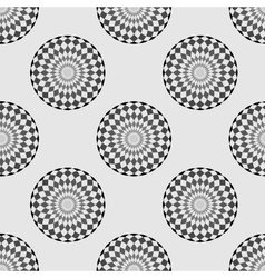 Pattern circle background vector