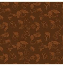 Pattern of Sweet Food vector image