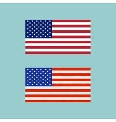 American Flag Symbol vector image