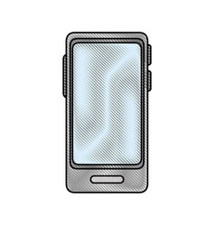smartphone technology device vector image