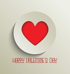 valentines day background 1601 vector image