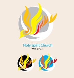 Holy spirit mission vector