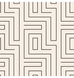 Geometrical stripped seamless pattern vector