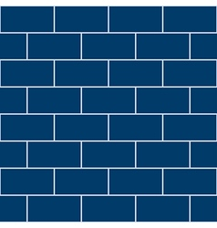 Snorkel blue brick wall vector