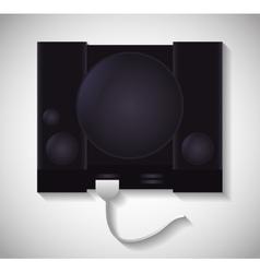 Game machine icon technology design vector
