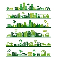 Green city vector