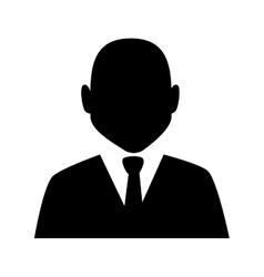 Man guy boy person suit tie face head icon vector
