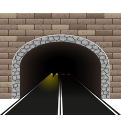 road tunnel 04 vector image
