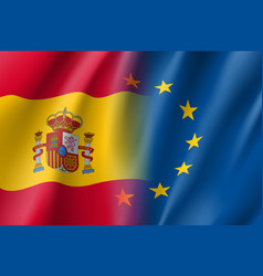 Symbol spain is eu member vector