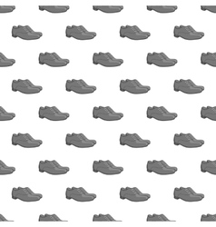 Mens shoes seamless pattern vector