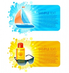 Travel frames vector