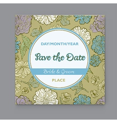 Save the date 2 1 vector image