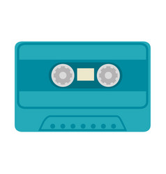 Old music cassette vector