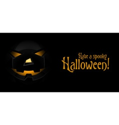 Background for halloween card vector