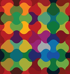 Colorful jolly celebrative wavy background vector image
