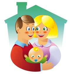 famili vector image vector image