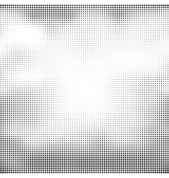 Halftone seamless background Abstract vector image vector image