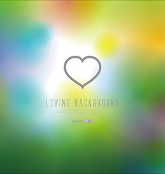 Loving background vector