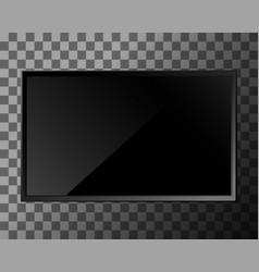 tv blank screen vector image