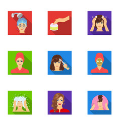 Salon bathroom hygiene and other web icon in vector