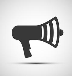 Icon megaphone vector