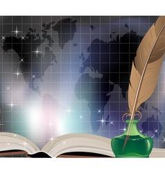 Ancient book vector