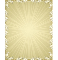 Ancient certificate background vector