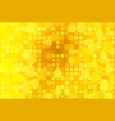 bright golden yellow glowing various tiles vector image