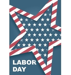 day of work in America vector image