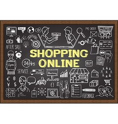 E commerce vector image vector image