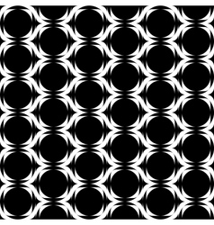 Seamless monochrome vertical geometric background vector image