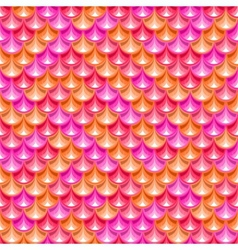 Seamless pink river fish scales texture vector image vector image