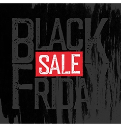 Black friday typography black friday poster vector